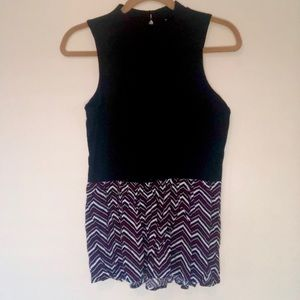 NWT CANDIE'S Turtle Neck Tank